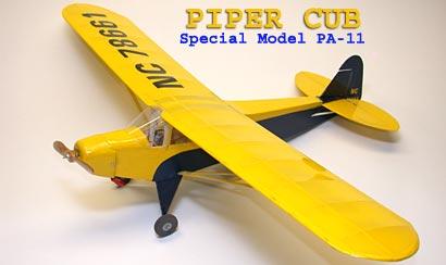 Piper PA-11 / j3 cub - Com planta! (  BOB ABERLE ) Pa11_01