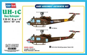 Bell UH-1C Huey Helicopter - 1/48