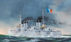 French Navy Pre-Dreadnought Battleship Condorcet - 1/350