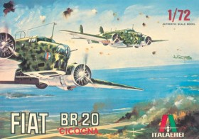 Fiat BR 20 Cicogna - Vintage Collection - 1/72