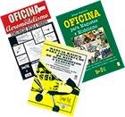 3 livros: Oficina de Aeromod, Oficina p/ Maquetes e Model. e Manual de Aero a Elástico