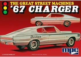 1967 Charger Great Street Machines - 1/25 - NOVIDADE!
