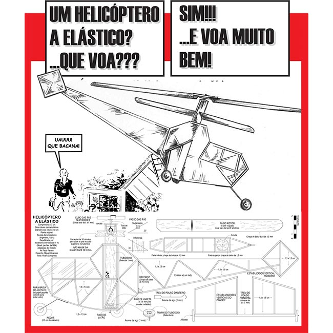 Planta Helicóptero a Elástico