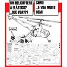 Planta de Helicóptero de Voo Livre movido a Elástico