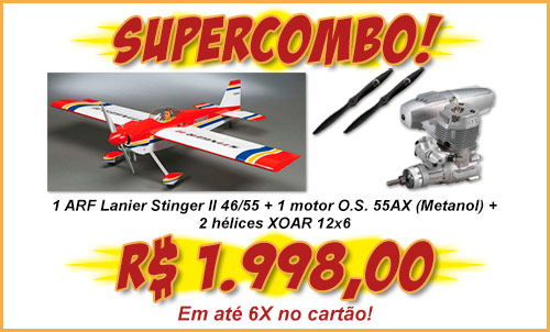 Supercombo Stinger + O.S.55AX