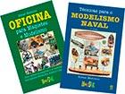 2 Livros: TÉCNICAS PARA O MODELISMO NAVAL e OFICINA PARA MAQUETES E MODELISMO